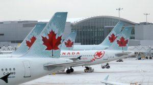A file image of Air Canada aircraft. (Air Canada)